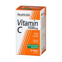 Health Aid Vitamin C 1500mg Prolonged Release 30 ταμπλέτες
