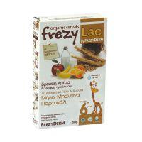 Frezyderm Frezylac Βρεφική Κρέμα Δημητριακά με Γάλα & Φρούτα 200gr