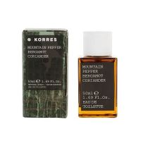 Korres Κολόνια Mountain Pepper Bergamot Coriander Eau de Toilette 50ml