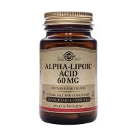 Solgar Alpha-Lipoic Acid 60mg Αντιοξειδωτικά 30 Veg. Caps