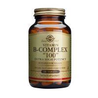 "Solgar Vitamin B-Complex ""100"" Extra High Potency Βιταμίνες 100 Veg. Caps"