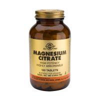 Solgar Magnesium Citrate Μέταλλα-Ιχνοστοιχεία 120 Tabs
