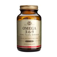 Solgar Omega 3-6-9 Fish, Flax, Borage Ουσιώδη Λιπαρά Οξέα 60 Softgels