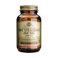 Solgar Dry Vitamin E 268mg 400IU Βιταμίνες 50 Veg Caps
