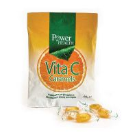 Power Health Vita C Caramels Μανταρίνι 60gr