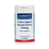 Lamberts Green Lipped Mussel 350mg 90 κάψουλες