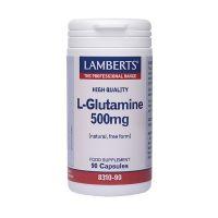 Lamberts L-Glutamine 500mg 90 κάψουλες