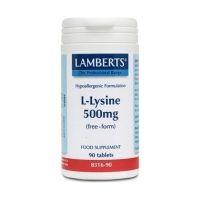 Lamberts L-Lysine 500mg 90 ταμπλέτες