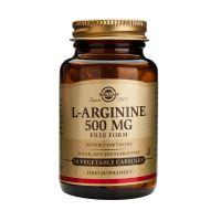 Solgar L-Arginine 500mg Αμινοξέα 50 Veg. Caps