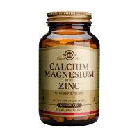 Solgar Calcium Magnesium Plus Zinc Μέταλλα-Ιχνοστοιχεία 100 Tabs