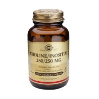 Solgar Choline/Inositol 250/250mg Βιταμίνες 50 Veg. Caps