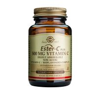 Solgar Ester-C Plus 500mg Vitamin C Βιταμίνες 50 Veg. Caps