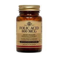Solgar Folacin (Folic Acid) 800mcg Βιταμίνες 100 Tabs