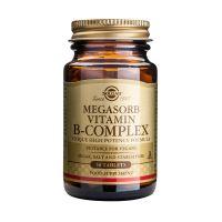 Solgar Megasorb Vitamin B-Complex Βιταμίνες 50 Tabs