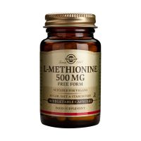 Solgar L-Methionine 500mg Free Form Αμινοξέα 30 Veg. Caps