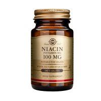 Solgar Niacin (Vitamin B3) 100mg Βιταμίνες 100 Tabs