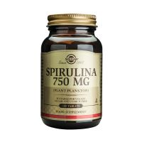 Solgar Spirulina 750mg (Plant Plankton) Σούπερ Τροφές 100 Tabs