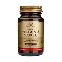 Solgar Dry Vitamin A 5000IU Βιταμίνες 100 Tabs