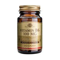 Solgar Vitamin B6 100mg Βιταμίνες 100 Veg. Caps