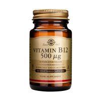 Solgar Vitamin B12 500mcg Βιταμίνες 50 Veg. Caps