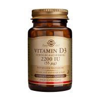 Solgar Vitamin D3 2200IU 55mcg Βιταμίνες 50 Veg. Caps