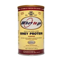 Solgar Whey To Go Whey Protein Powder Vanilla Πρωτεΐνες 340g