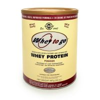 Solgar Whey To Go Whey Protein Powder Vanilla Πρωτεΐνες 907g