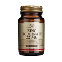 Solgar Zinc Picolinate 22mg Μέταλλα-Ιχνοστοιχεία 100 Tabs