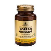Solgar Korean Ginseng (Panax ginseng) Φυτικά Εκχυλίσματα 50 Veg. Caps
