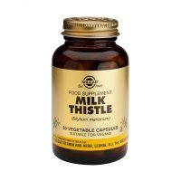Solgar Milk Thistle (Silybum marianum) Φυτικά Εκχυλίσματα 50 Veg. Caps