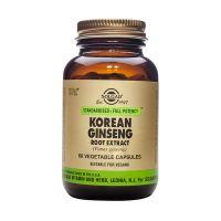 Solgar SFP Korean Ginseng Root Extract (Panax ginseng) Ενισχυμένα Φυτικά Εκχυλίσματα 60 Veg. Caps