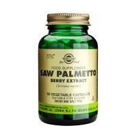 Solgar Saw Palmetto Berry Extract (Serenoa repens) Ενισχυμένα Φυτικά Εκχυλίσματα 60 Veg. Caps
