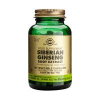 Solgar Siberian Ginseng Root Extract (Eleutherococcus senticosus) Ενισχυμένα Φυτικά Εκχυλίσματα 60 Veg. Caps