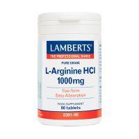 Lamberts L-Arginine HCl 1000mg 90 ταμπλέτες