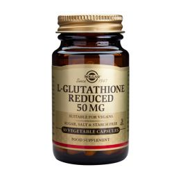 Solgar L-Glutathione Reduced 50mg Αμινοξέα 30 Veg. Caps