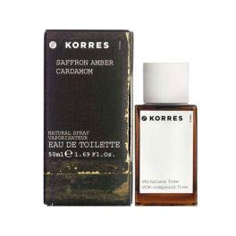 Korres Saffron Amber Cardamom Men Eau de Toilette 50ml