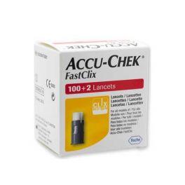 Accu-Chek Fastclix Σκαρφιστήρες Mέτρησης Σακχάρου 102τμχ