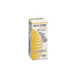 Accu-Check Softclix Σκαρφιστήρες Μέτρησης Σακχάρου 25τμχ