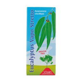 Vican Eucalyptus Vapo Stretto Αποσμητικό Χώρου Ευκάλυπτος Για Ελεύθερη Αναπνοή 100ml