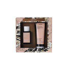Korres Gift Set For Her Black Sugar, Oriental Lilly, Violet Eau de Toilette 50ml & Body Lotion 125ml