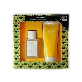Korres Gift Set For Her White Tea, Bergamont, Freesia Eau de Toilette 50ml & Body Milk 125ml