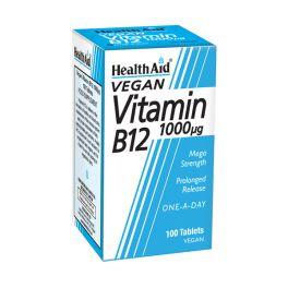 Health Aid B12 1000mg 100 ταμπλέτες