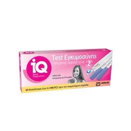 Abbott IQ Home Τεστ Εγκυμοσύνης Πρόωρης Ανίχνευσης 2τμχ
