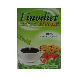 Linodiet Stevia Φυσικό Γλυκαντικό 100 sticks