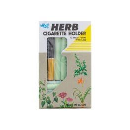 Vican Herb Cigarette Holder Gold + 12 Φίλτρα + Θήκη