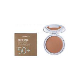 Korres Αντιηλιακό Make-Up Compact Με Κόκκινο Σταφύλι Spf50+ 1 Light Sunglow 8g