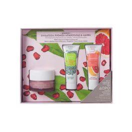 Korres Set Με Ρόδι Ενυδατική & Ρυθμιστική Κρέμα-Τζελ Προσώπου Για Λιπαρό-Μικτό Δέρμα 40ml & Δώρο Μάσκα Καθαρισμού Με Πράσινη Άργιλο 18ml & Μάσκα Άμεσης Λάμψης Με Γκρέιπφρουτ 18ml