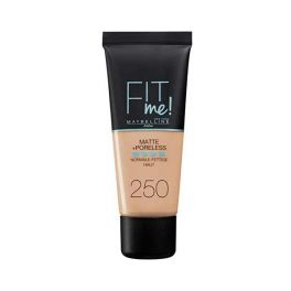 Maybelline Fit Me! Make Up Για Κανονικό/Λιπαρό Δέρμα 250 Sun Beige 30ml