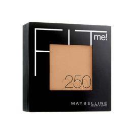 Maybelline Fit Me! Πούδρα Για Κανονικό/Λιπαρό Δέρμα 250 Sun Beige 9g