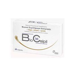 Omega Pharma Bio Calpil Forte Φυσικό Συμπλήρωμα Διατροφής Για Την Ενίσχυση Των Μαλλιών 60 Κάψουλες